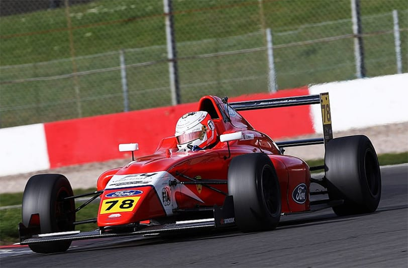 Frederick Lubin has stepped up to BRDC British F3 with Arden Motorsport.