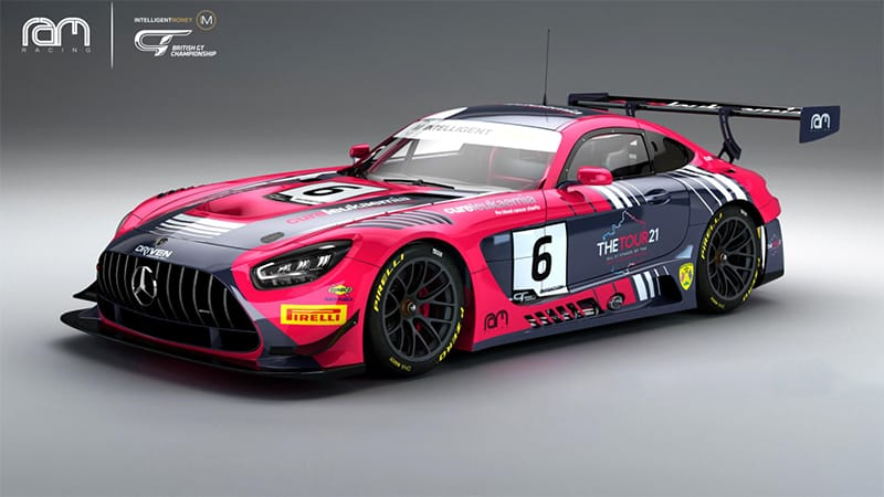 Ian Loggie and Yelmer Buurman will continue in the #6 Ram Racing Mercedes-AMG GT3 Evo for 2021