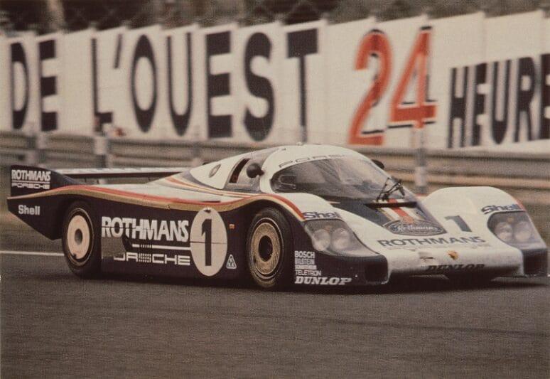 1982 24 Hours of Le Mans-winning Porsche 956