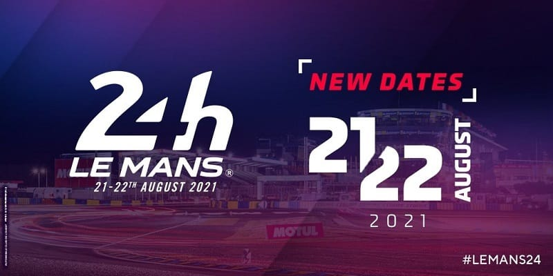 Announcement that the 89th 24 Hours of Le Mans has been postponed for two months.