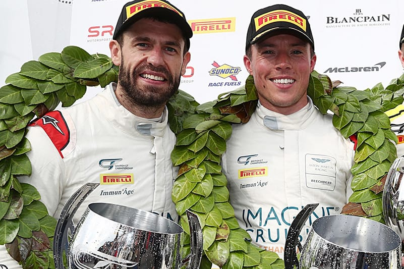 Kelvin Fletcher and Martin Plowman will compete in British GT with a Bentley Continental GT3 this season.