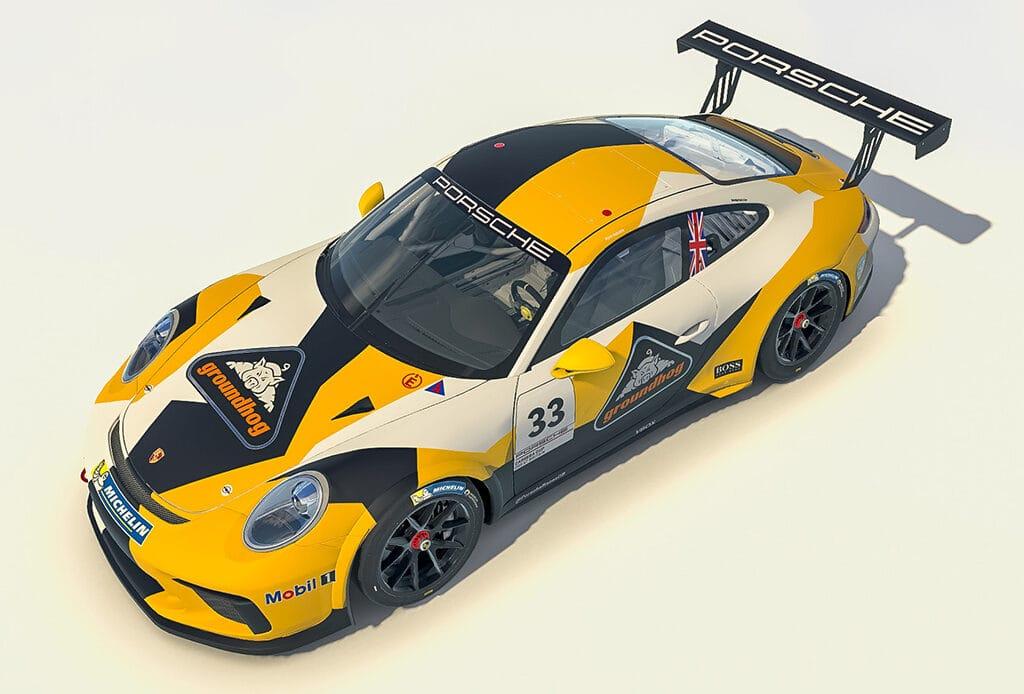 Ryan Ratcliffe - Porsche Carrera Cup GB - Team Parker