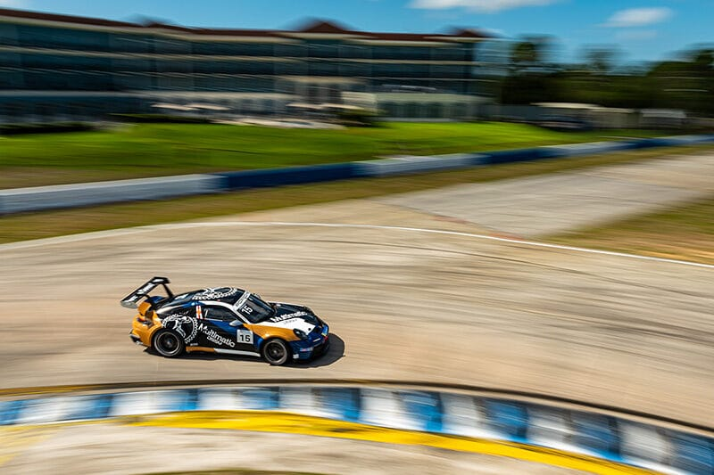 Sebastian Priaulx - Porsche Carrera Cup North America