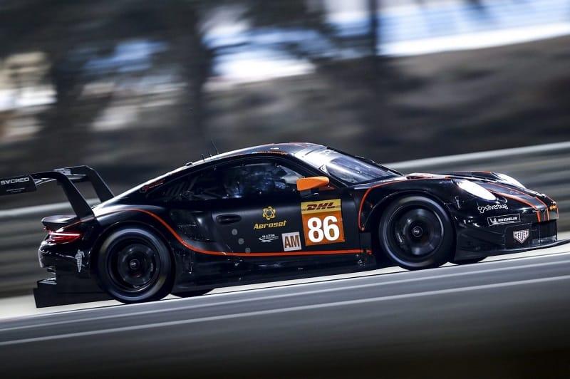 #86 Porsche RSR on Track
