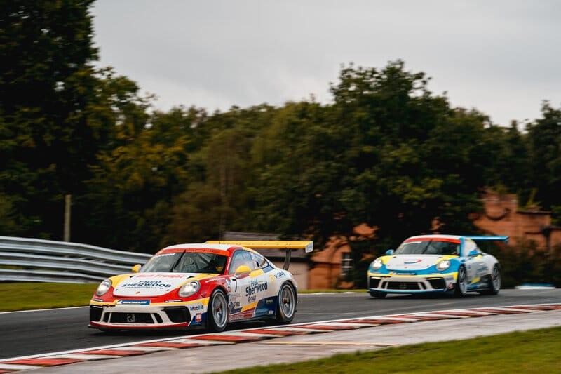 Justin Sherwood | Justin Armstrong | Team Parker Racing | Porsche Carrera Cup GB