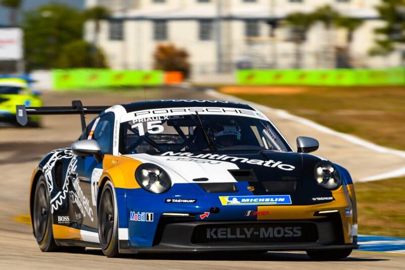 Seb Priaulx - Porsche Carrera Cup North America