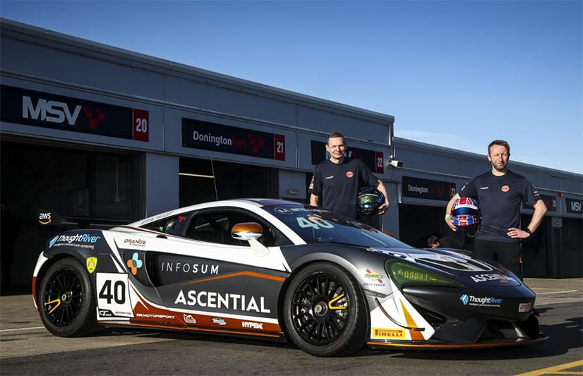 Nick Halstead and Jamie Stanley will run the #40 Fox Motorsport McLaren 570S GT4 in the Intelligent Money British GT Championship this season.