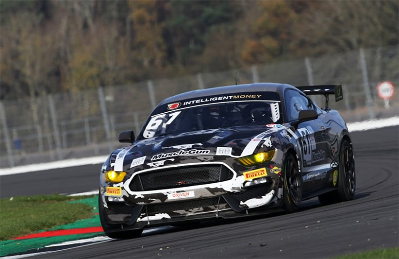 Matt Cowley ran the #61 Academy Motorsport Ford Mustang GT4 in 2020.