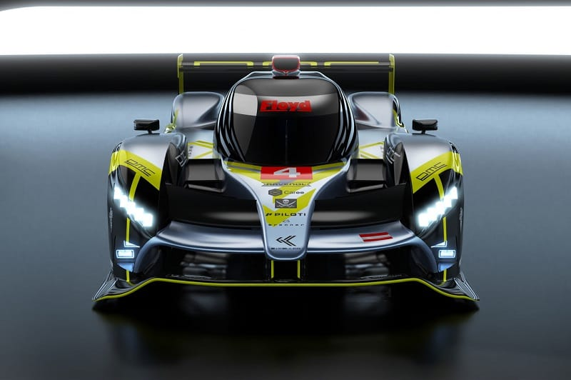 Digital render of the currently unnamed ByKolles Racing Hypercar