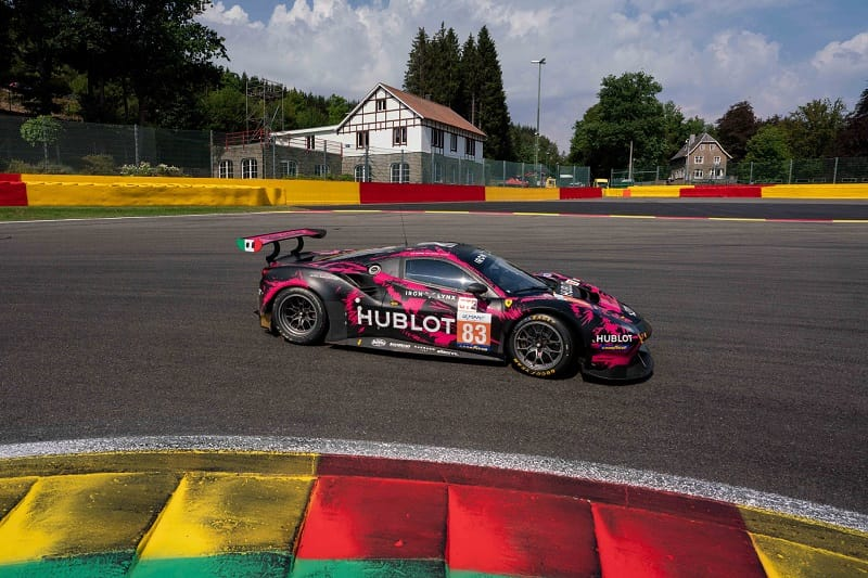 Iron Lynx Iron Dames #83 Ferrari on track for 2020 ELMS Le Mans Cup Race, Spa-Francorchamps