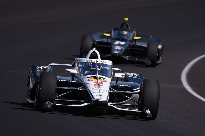 Josef Newgarden Sets the Pace in Indianapolis Motor ...
