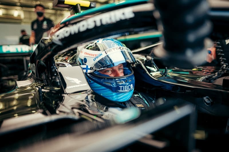 Bottas leads Hamilton in incident-ridden opening Free Practice at Imola - The Checkered Flag