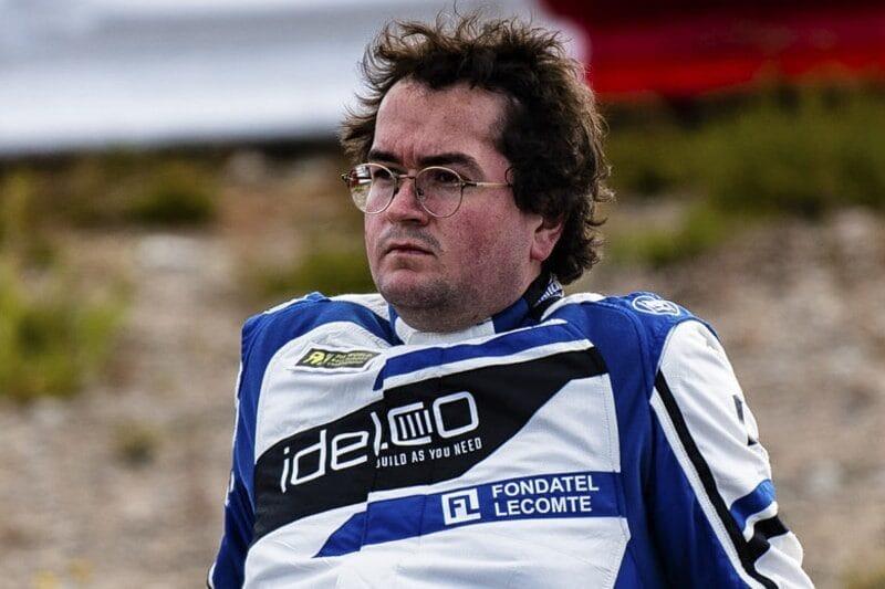 Belgian Rallycross star, Enzo Ide