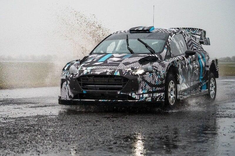 M-Sport testing new Hybrid WRC Car