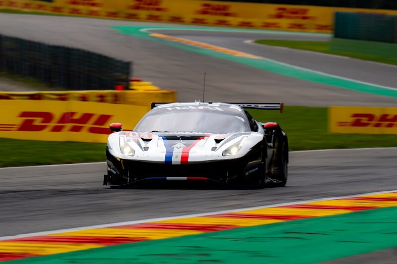#83 AF Corse, winner of the LM GTE Am class at the 2021 6 Hours of Spa-Francorchamps