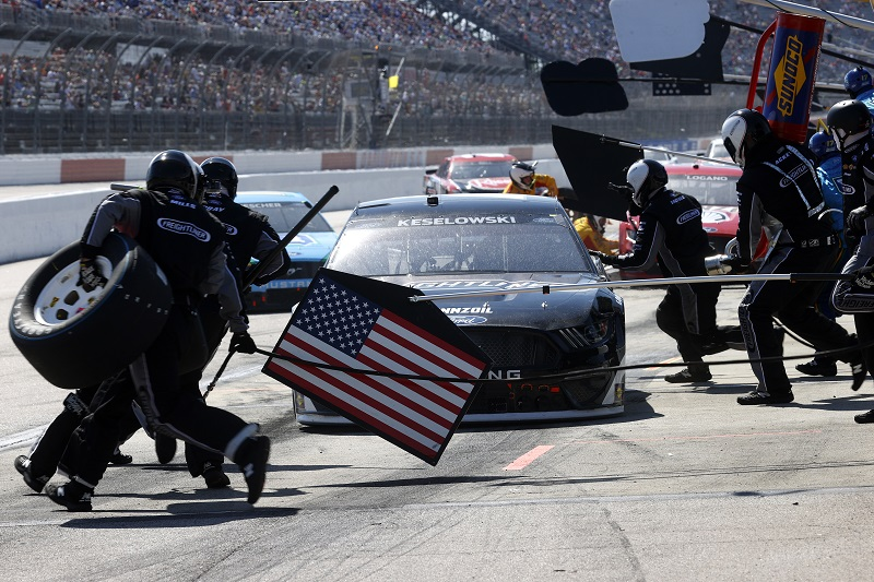 Penske pals Brad Keselowski, Joey Logano without crew chiefs for Dover - The Checkered Flag