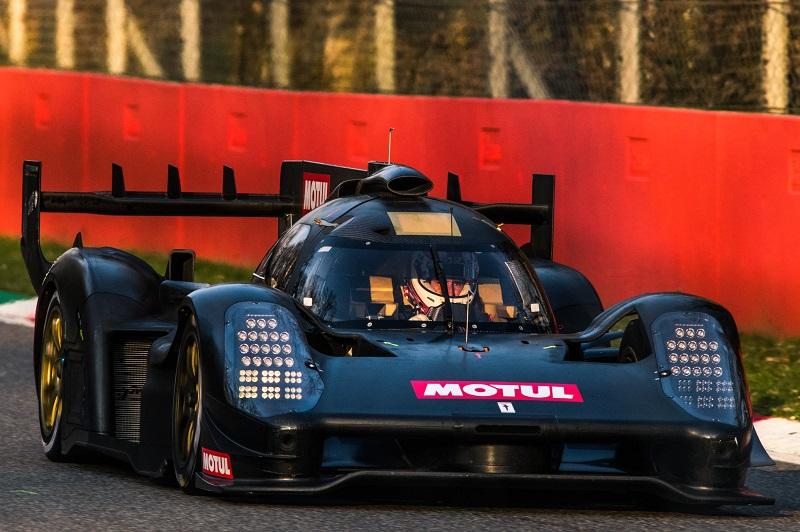 Scuderia Cameron Glickenhaus testing the new 007 LMH car.