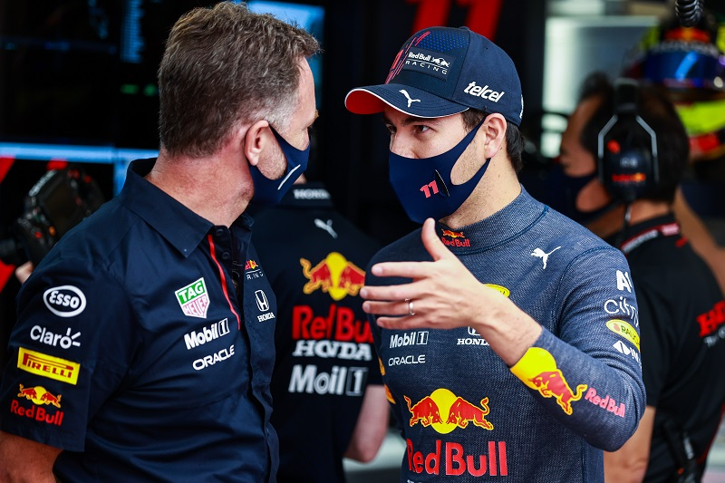 """Horner on Pérez's Baku Win: """"To see him get that victory, it will be great for his confidence"""" - The Checkered Flag"""