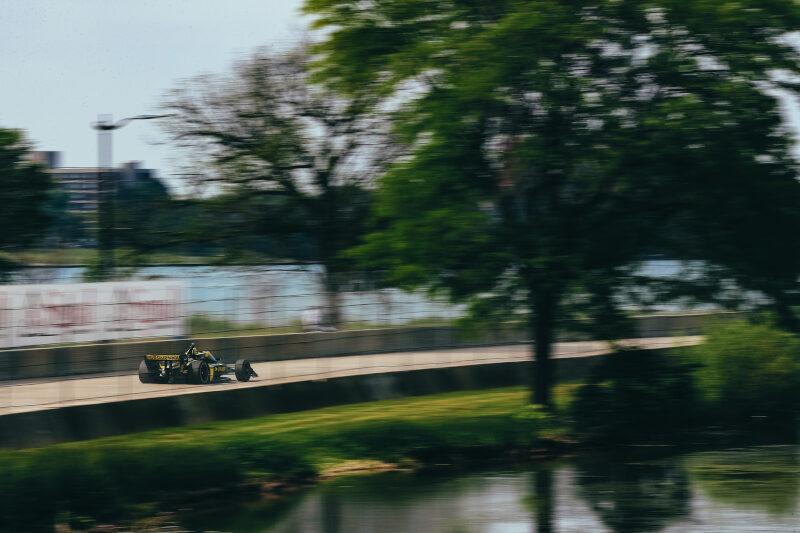 O'Ward Wins Detroit Race Two as Newgarden's Tires Fall Away - The Checkered Flag