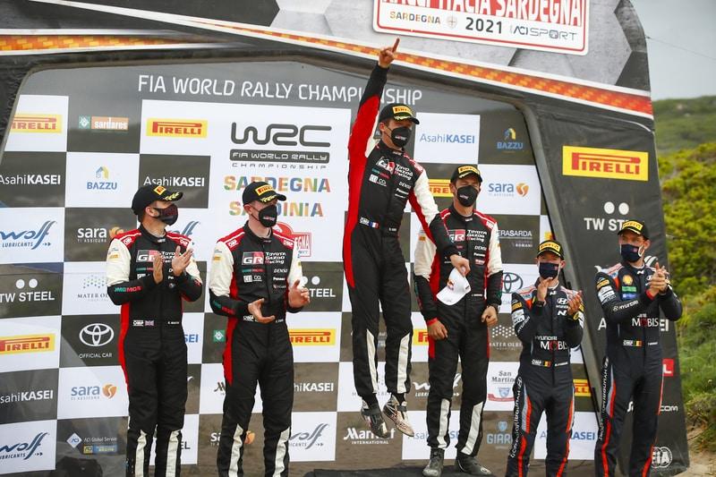 Ogier wins Rally Sardinia