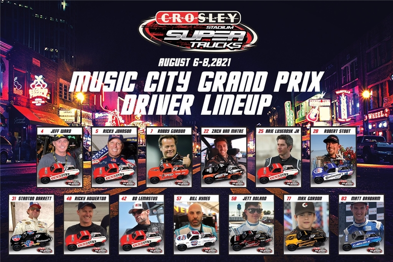 13 drivers form SST Nashville grid - The Checkered Flag