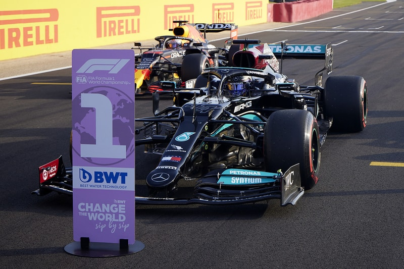 """""""The desire to want to deliver for everyone is beyond belief"""" - Lewis Hamilton - The Checkered Flag"""