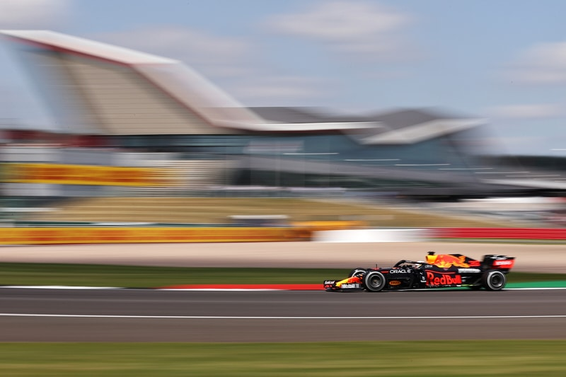 Verstappen tops first British Grand Prix practice - The Checkered Flag