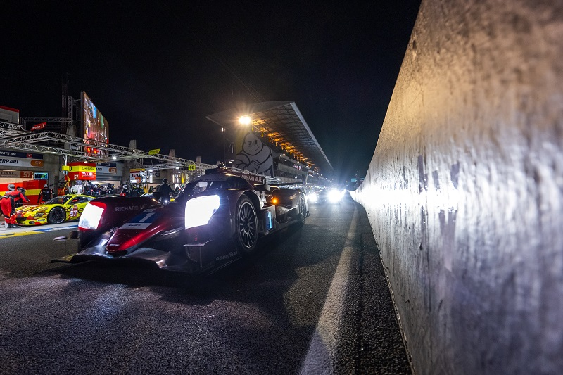Sophia Florsch suffered an intense crash during the sixth hour of the 24 Hours of Le Mans