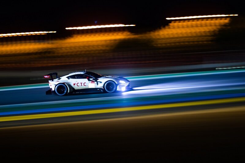 #33 TF Sport has held the lead of GTE Am since the second hour of the race