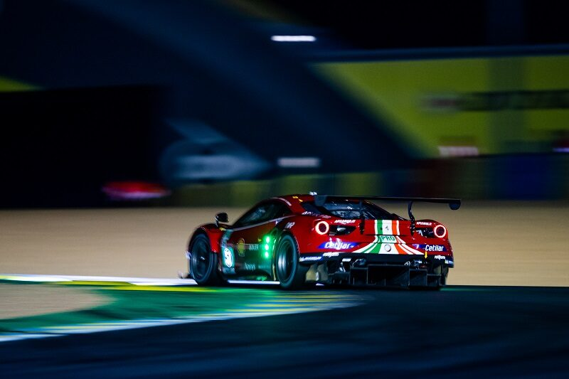 AF Course still hold the lead dominantly in GTE Pro