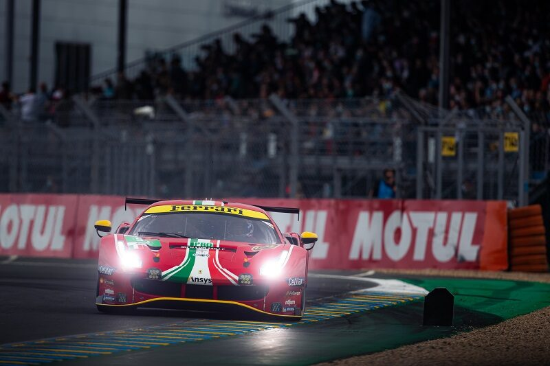 The #52 AF Corse had a turbulent six hours of racing, ending hour 18 back in the garage.