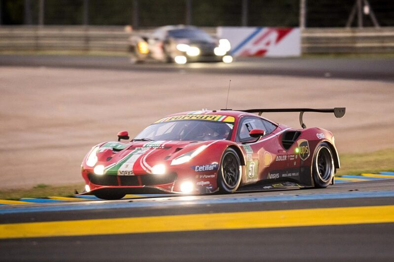 #51 AF Corse LM GTE Pro class winner at the 2021 24 Hours of Le Mans