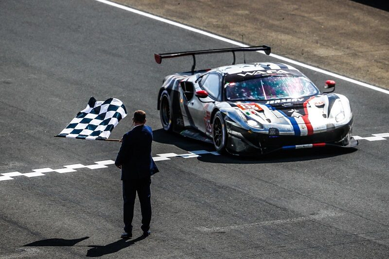 #83 AF Corse LM GTE Am class winner at the 2021 24 Hours of Le Mans