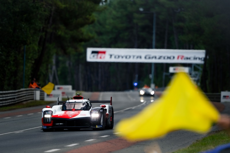 #7 Toyota Gazoo Racing lead the way at the 2021 24 Hours of Le Mans after a turbulent start to the race